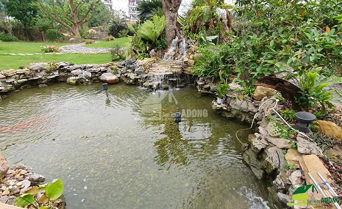 Thi công sân vườn biệt thự tại Bình Dương view 01
