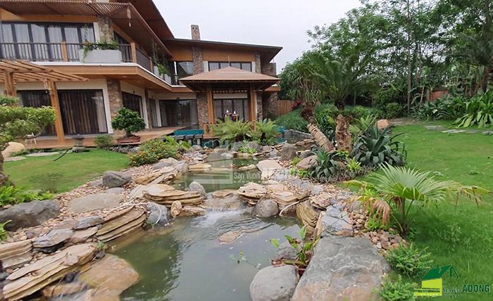 Thi công sân vườn biệt thự tại Bình Dương view 05