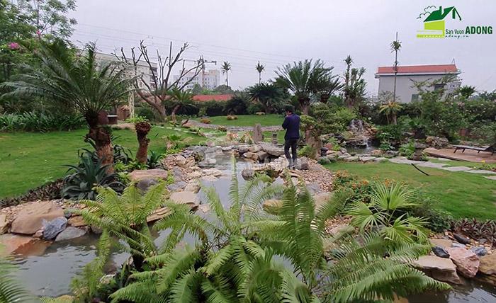 Thi công sân vườn biệt thự tại Bình Dương view 11