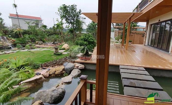 Thi công sân vườn biệt thự tại Bình Dương view 13