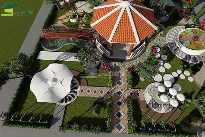 thiết kế cảnh quan công viên tại Thanh Hóa góc nhìn 03