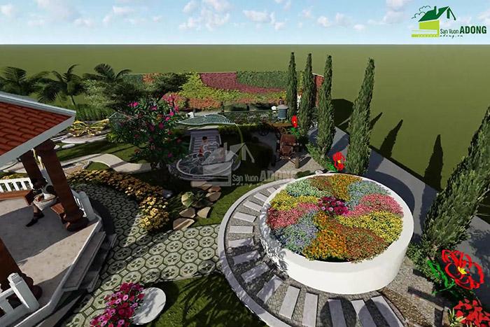 thiết kế cảnh quan công viên tại Thanh Hóa góc nhìn 09