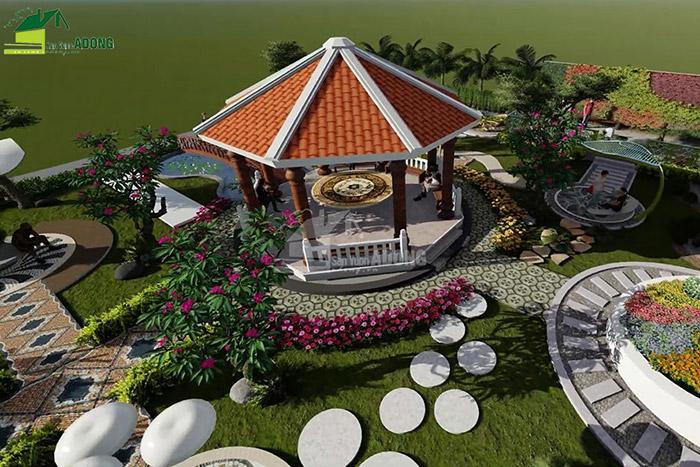 thiết kế cảnh quan công viên tại Thanh Hóa góc nhìn 10