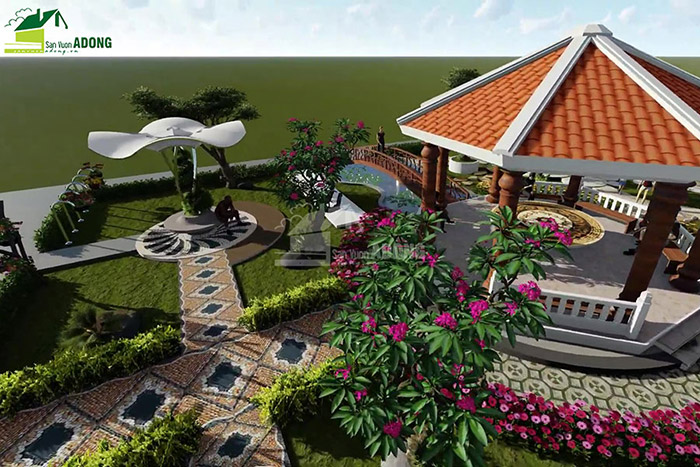 thiết kế cảnh quan công viên tại Thanh Hóa góc nhìn 11