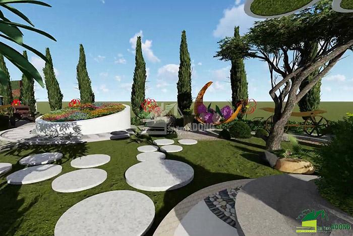 thiết kế cảnh quan công viên tại Thanh Hóa góc nhìn 14