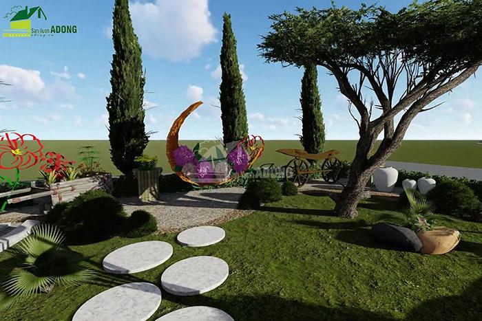 thiết kế cảnh quan công viên tại Thanh Hóa góc nhìn 15