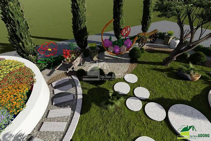 thiết kế cảnh quan công viên tại Thanh Hóa góc nhìn 16