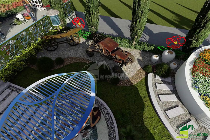 thiết kế cảnh quan công viên tại Thanh Hóa góc nhìn 18