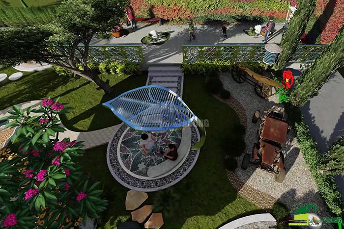 thiết kế cảnh quan công viên tại Thanh Hóa góc nhìn 20