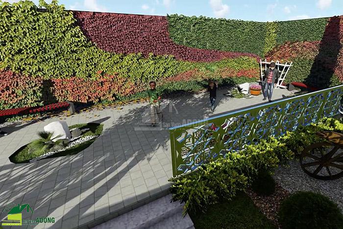 thiết kế cảnh quan công viên tại Thanh Hóa góc nhìn 21