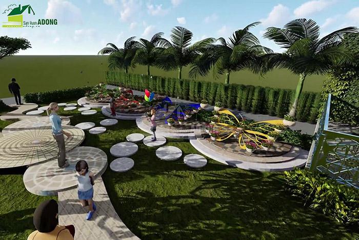 thiết kế cảnh quan công viên tại Thanh Hóa góc nhìn 24