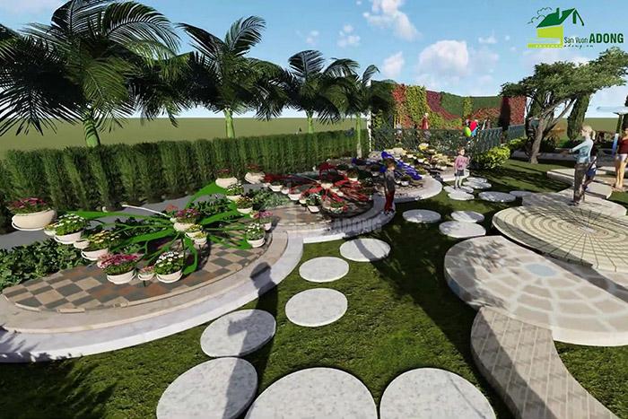 thiết kế cảnh quan công viên tại Thanh Hóa góc nhìn 25
