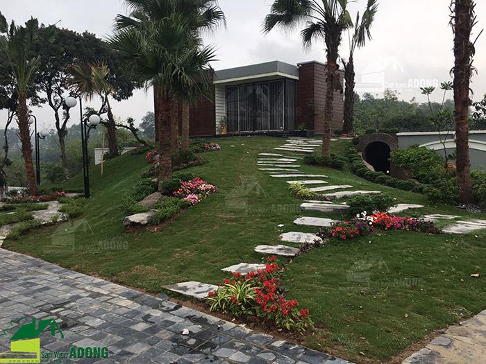 Thiết kế thi công khu nghỉ dưỡng gia đình ở Bắc Giang