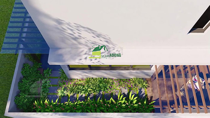 thiết kế thiểu cảnh biệt thự vườn Gamuda