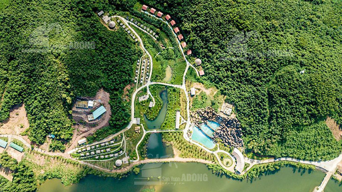 Tổng thể quy hoạch dự án khu sinh thái Mường Thanh Diễn Lâm