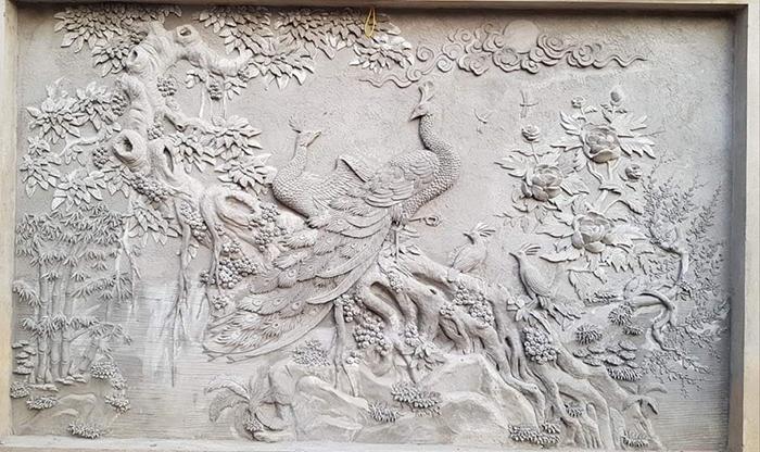 tranh phu dieu xi mang
